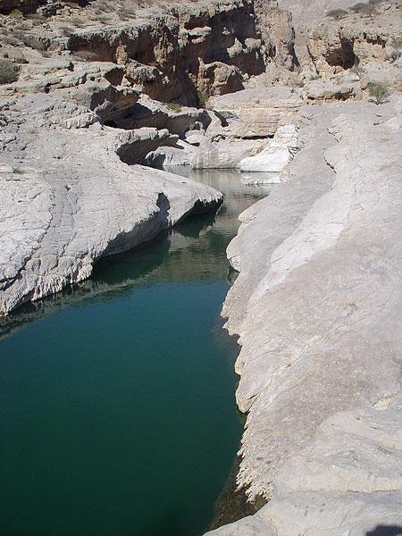 Wadi Shab, Tiwi