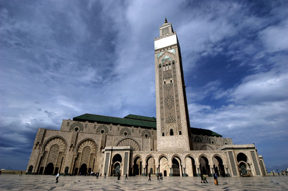 Hassan II Mosque, Casablanca, Morocco