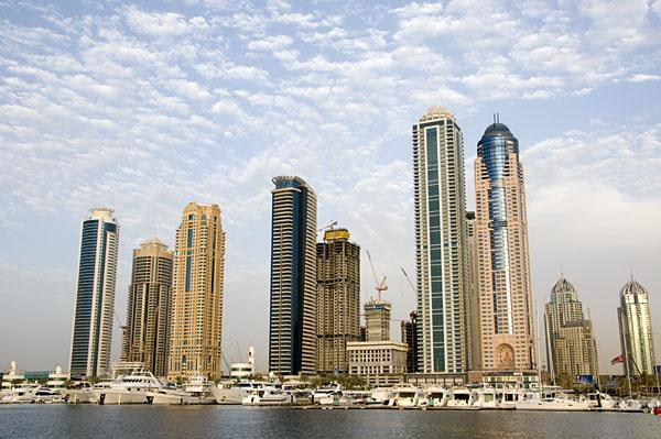 Overview of Dubai Marina