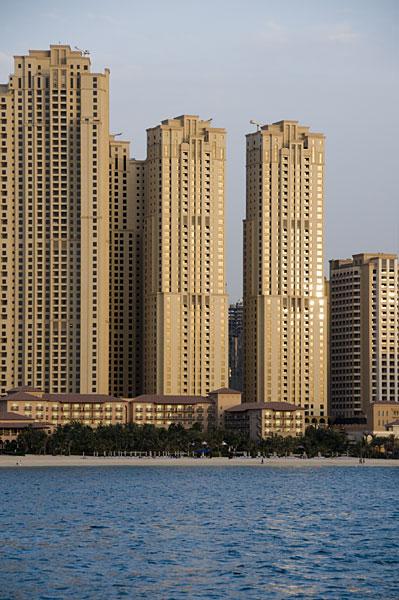 Dubai Marina and Jumeirah Beach Residence
