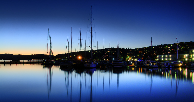 Sunset in Knysna