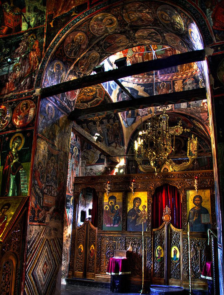 Monastery interior