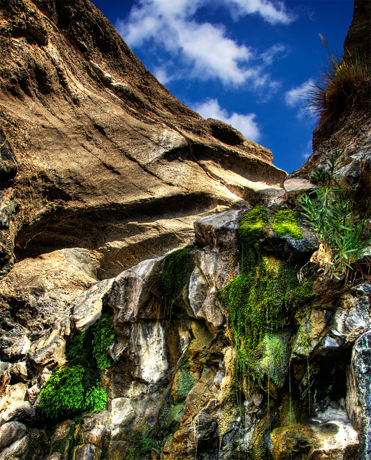 Photo of the week – Dry waterfall