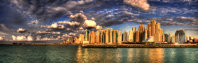 Photo of the week – Jumeirah Beach Residence panorama