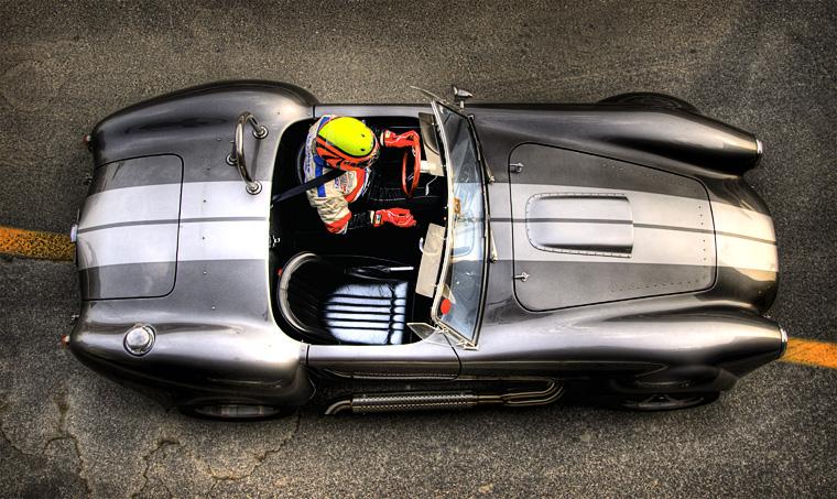 Racing at the autodrome