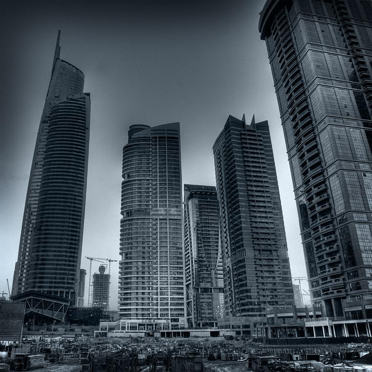 Busy skyline