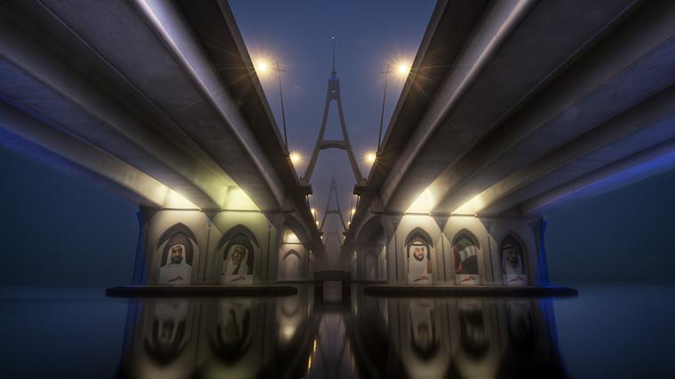 Foggy Dubai