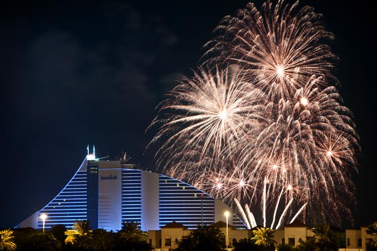 Dubai fireworks #2