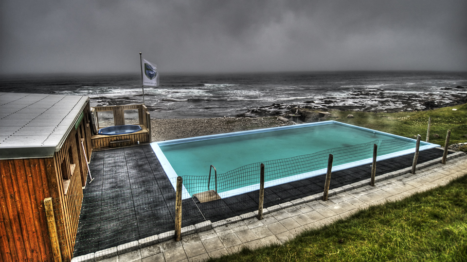Hot pool at the end of the world