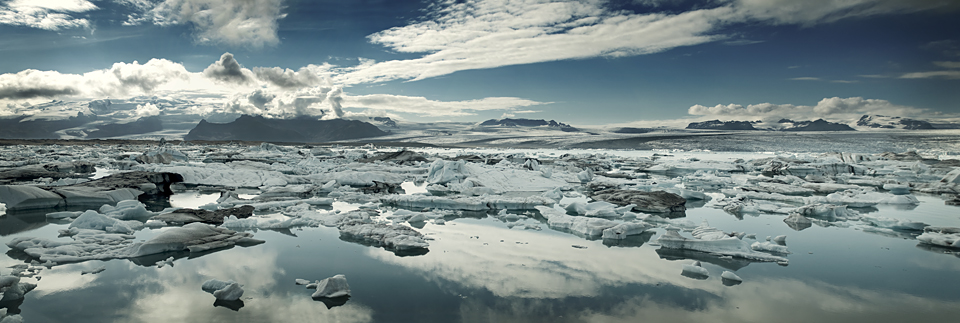 The Jokulsarlon Lagoon