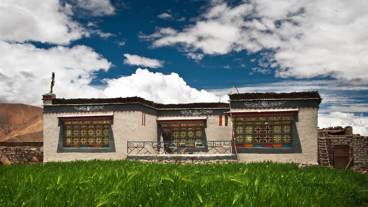 Tibetan house