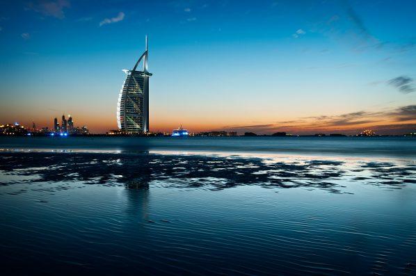 Yet another Burj Al Arab sunset