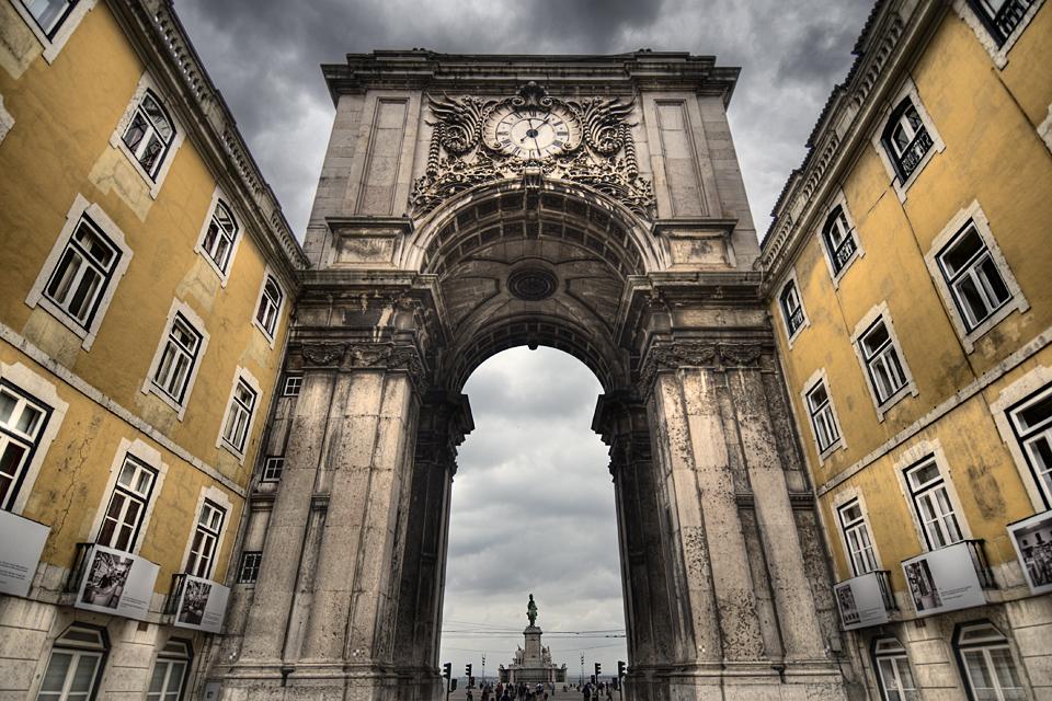 Imposing arch