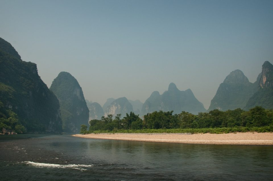Early morning on the Li River