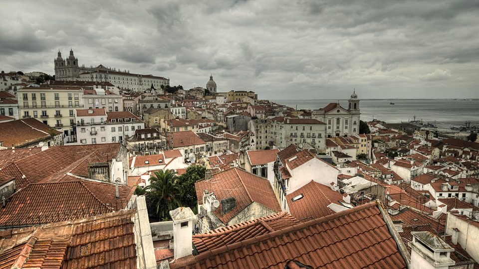 Lisbon's roofs