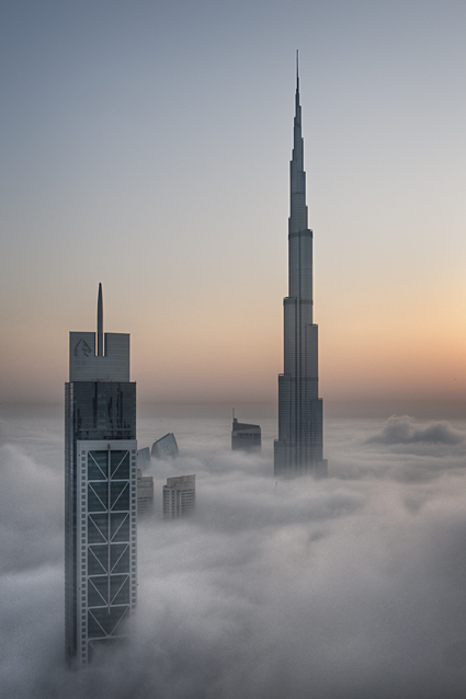 Foggy sunrise in Dubai #5