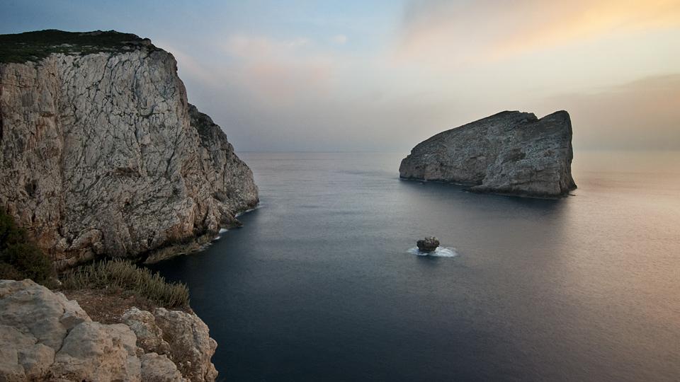 Sardinian coastline