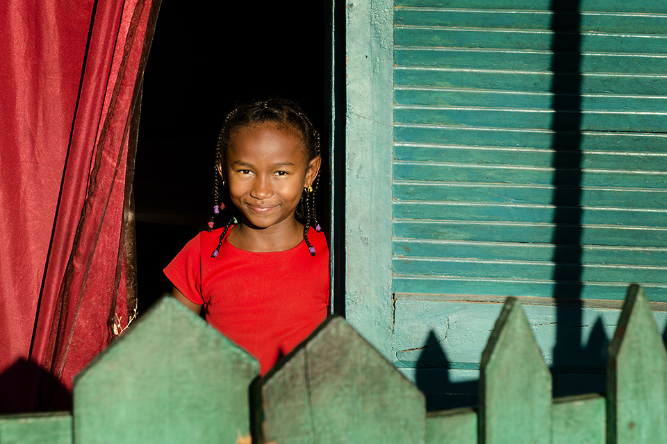 Malagasy smile