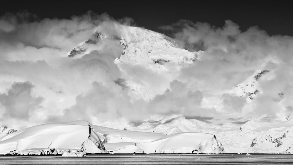 Antarctic clouds