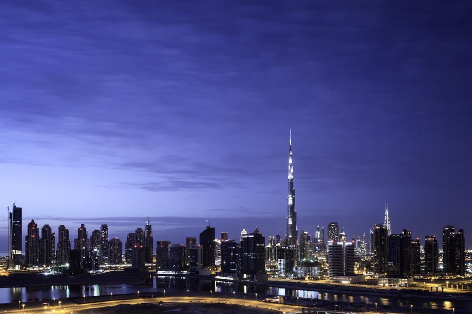 The Business Bay skyline #1