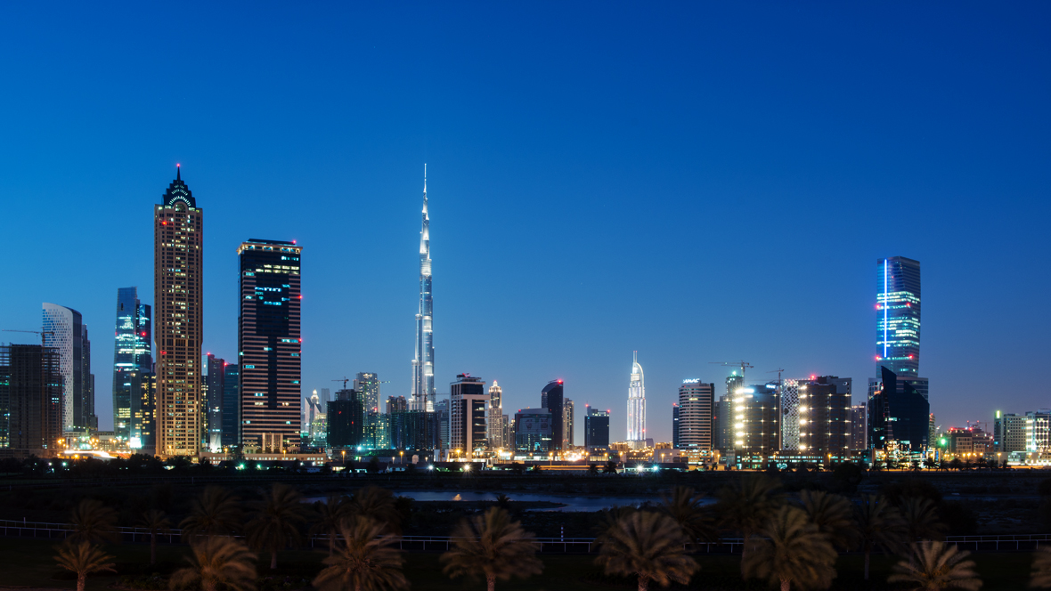 The Business Bay skyline #2