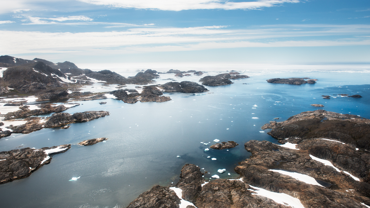 Greenland from the air #4