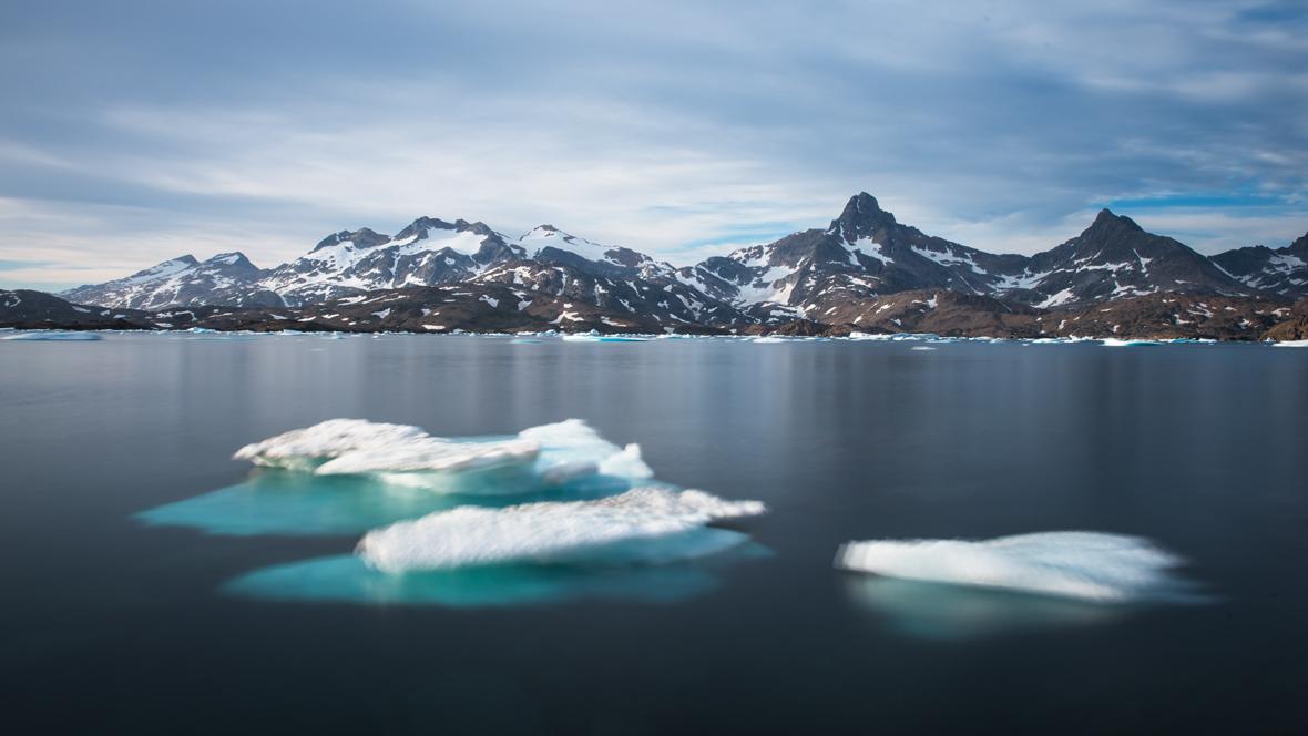 Floating icebergs #