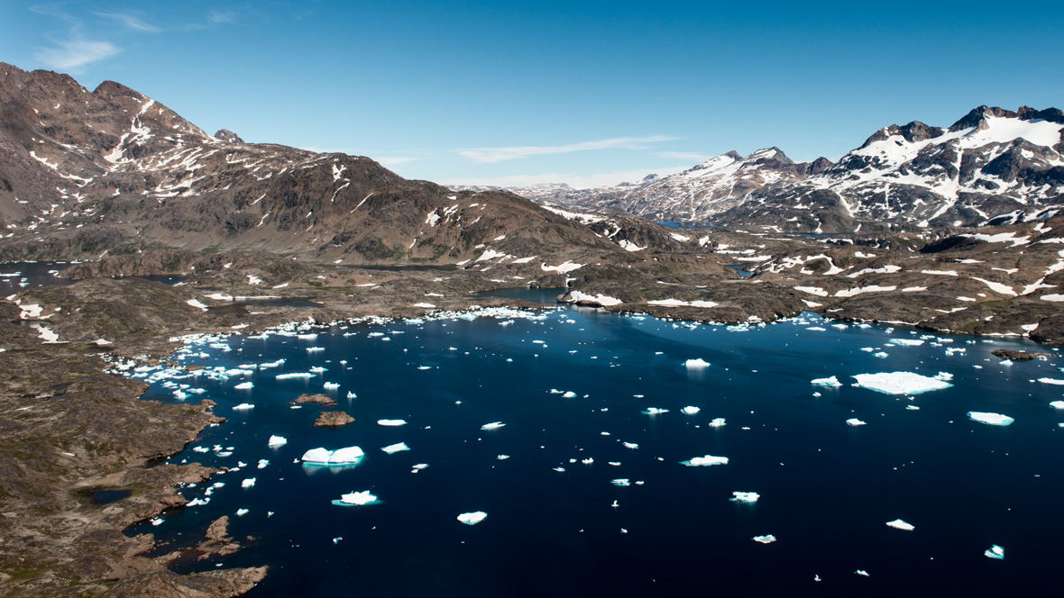 Greenland from the air #5