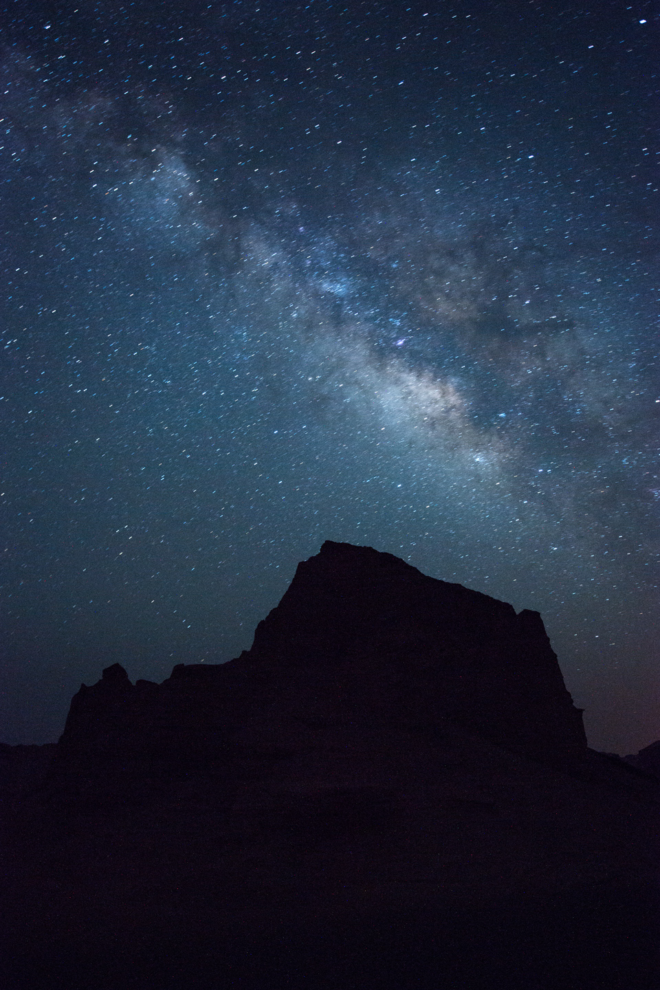 The Milky Way over the Kaluts