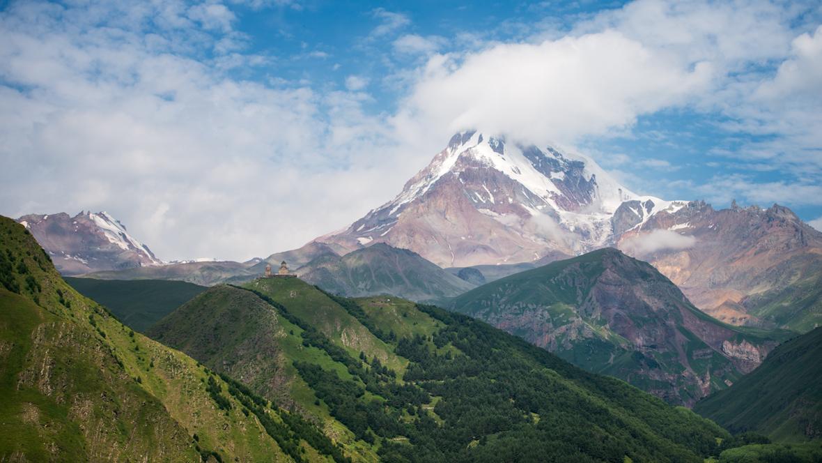 Mount Kazbek #1