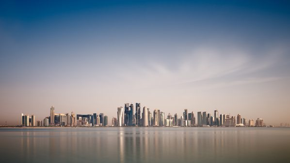 Qatari skyline #1