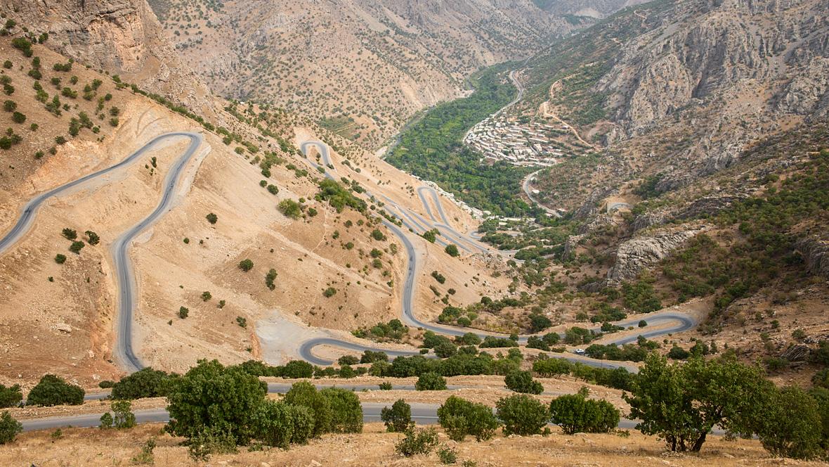 The Howraman Valley