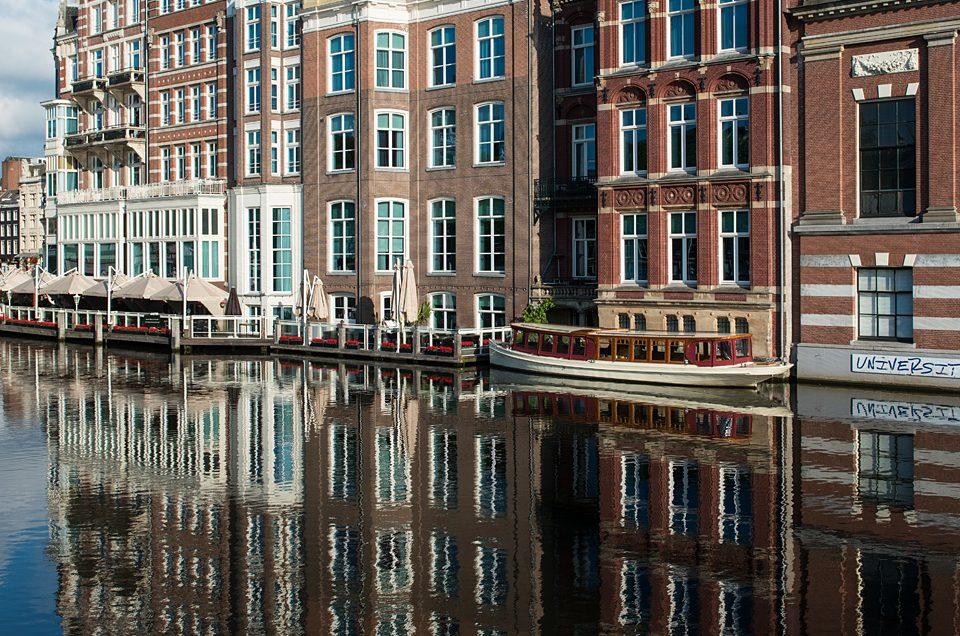 Amsterdam, reflected