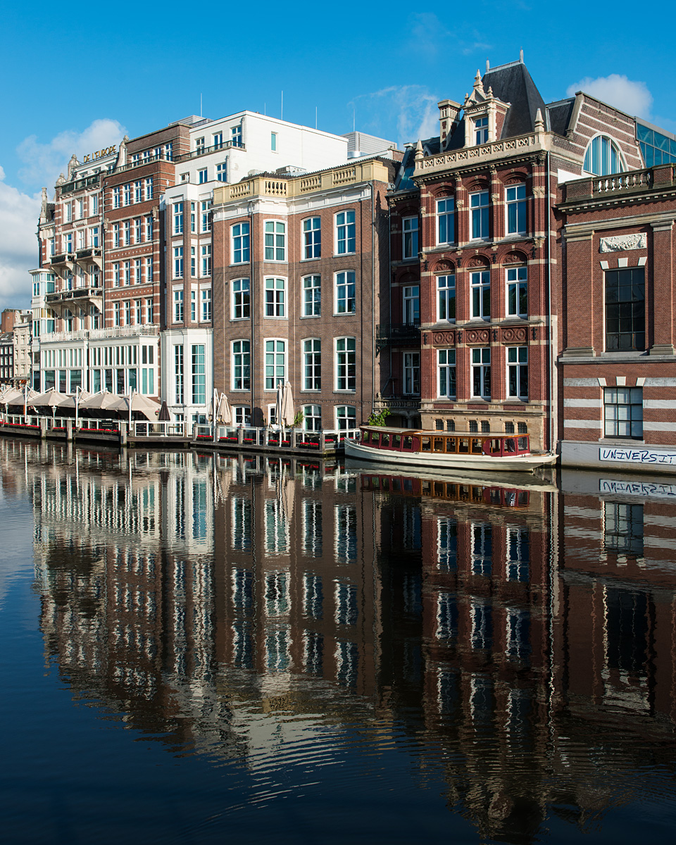 Amsterdam, reflected