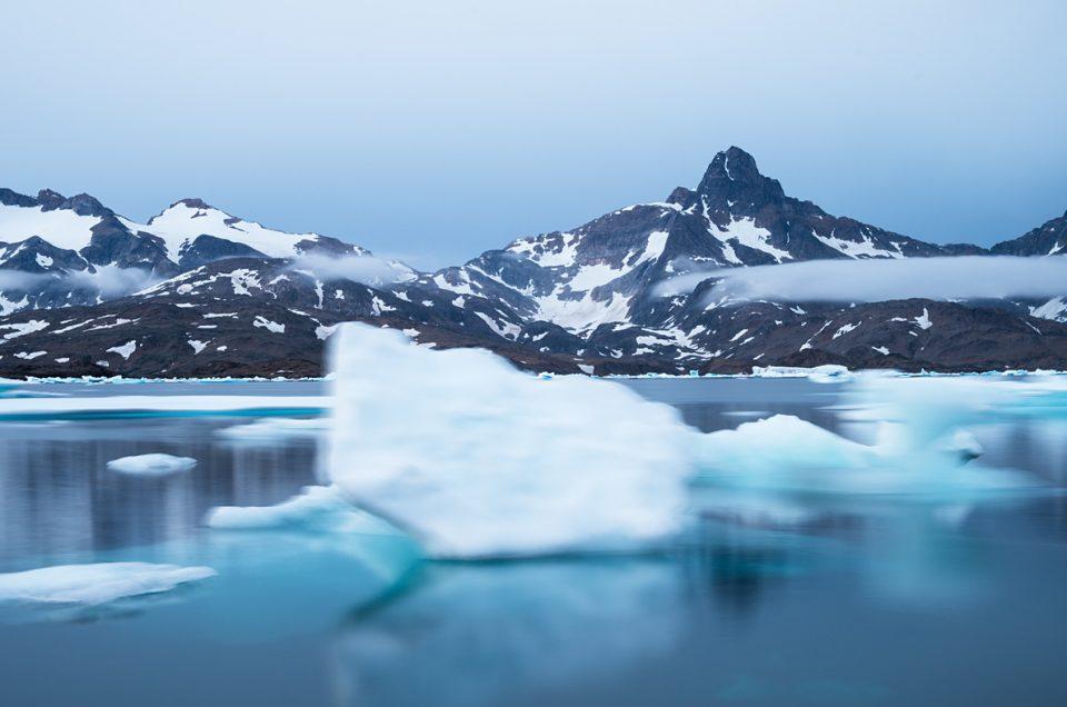 Floating icebergs #2