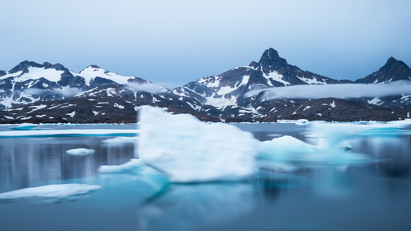Floating icebergs #2