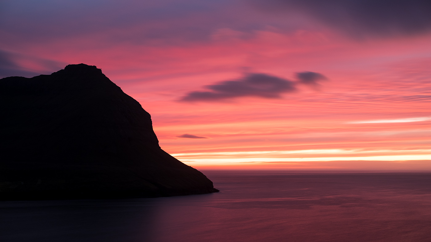 Faroe Islands sunset #1