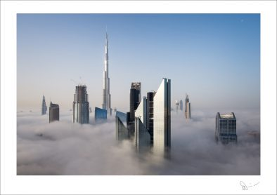 Foggy sunrise in Dubai #7