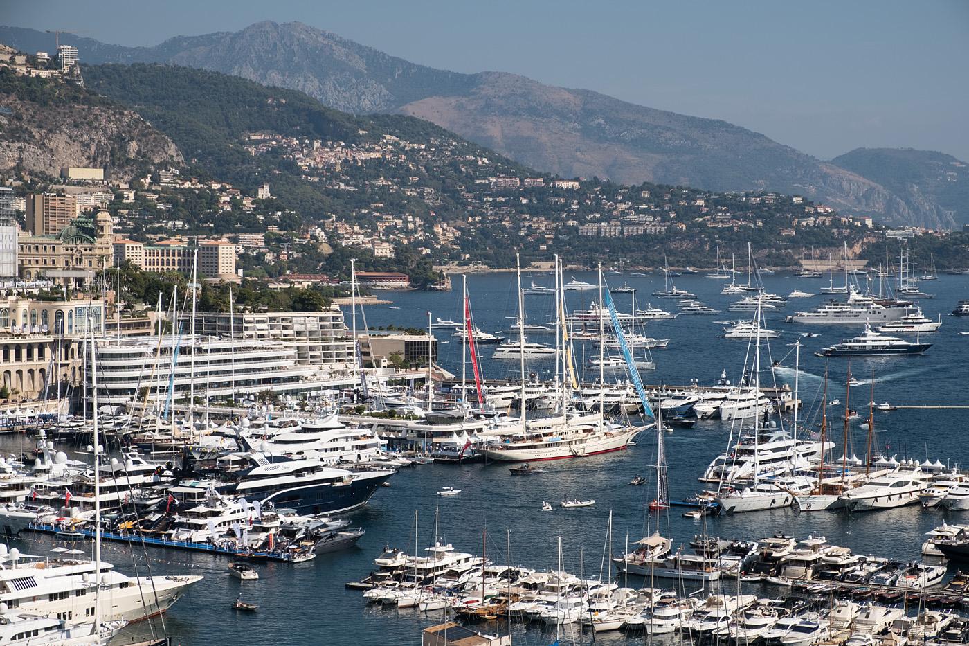 Monaco Yacht Show #1