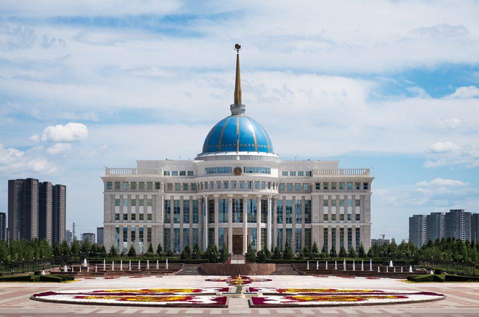 The Akorda Presidential Palace