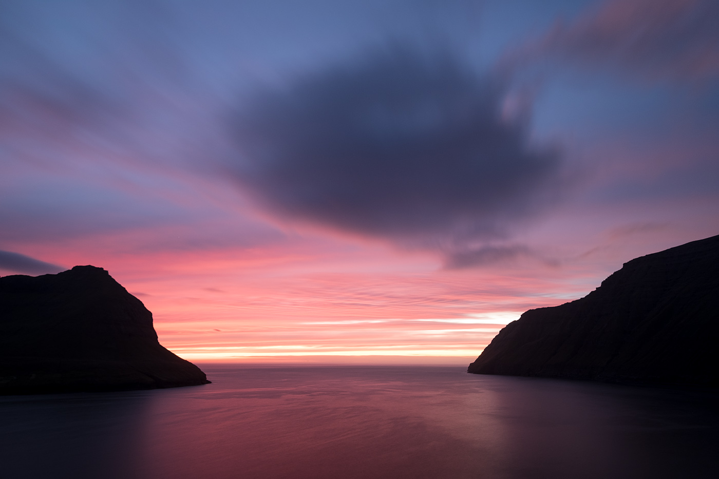 Faroe Islands sunset #2