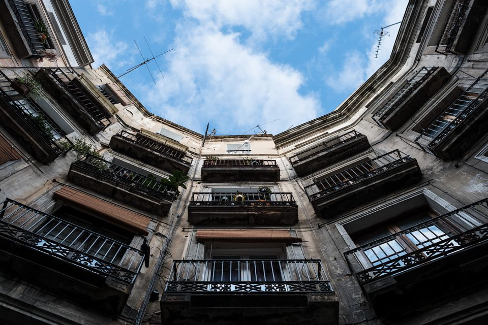 Look up - Gothic Quarter #1