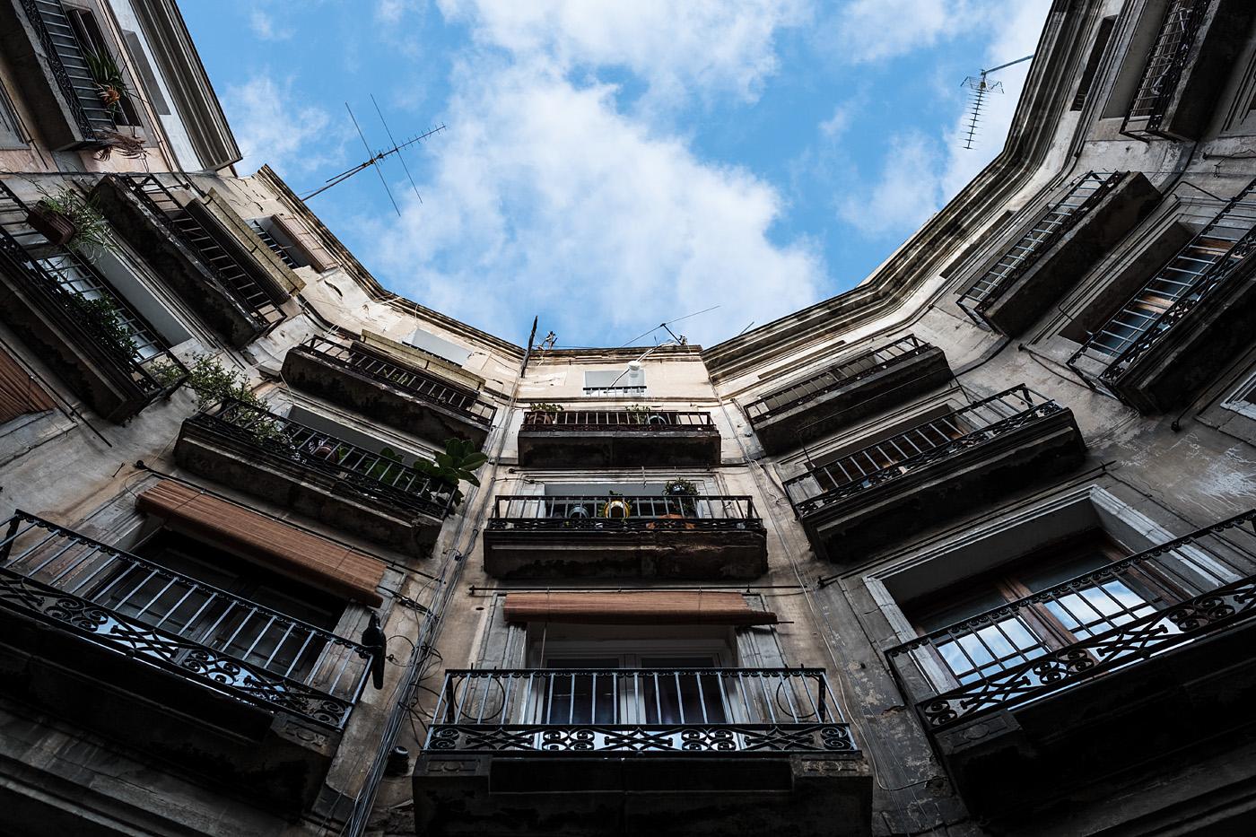 Look up - Gothic Quarter #1