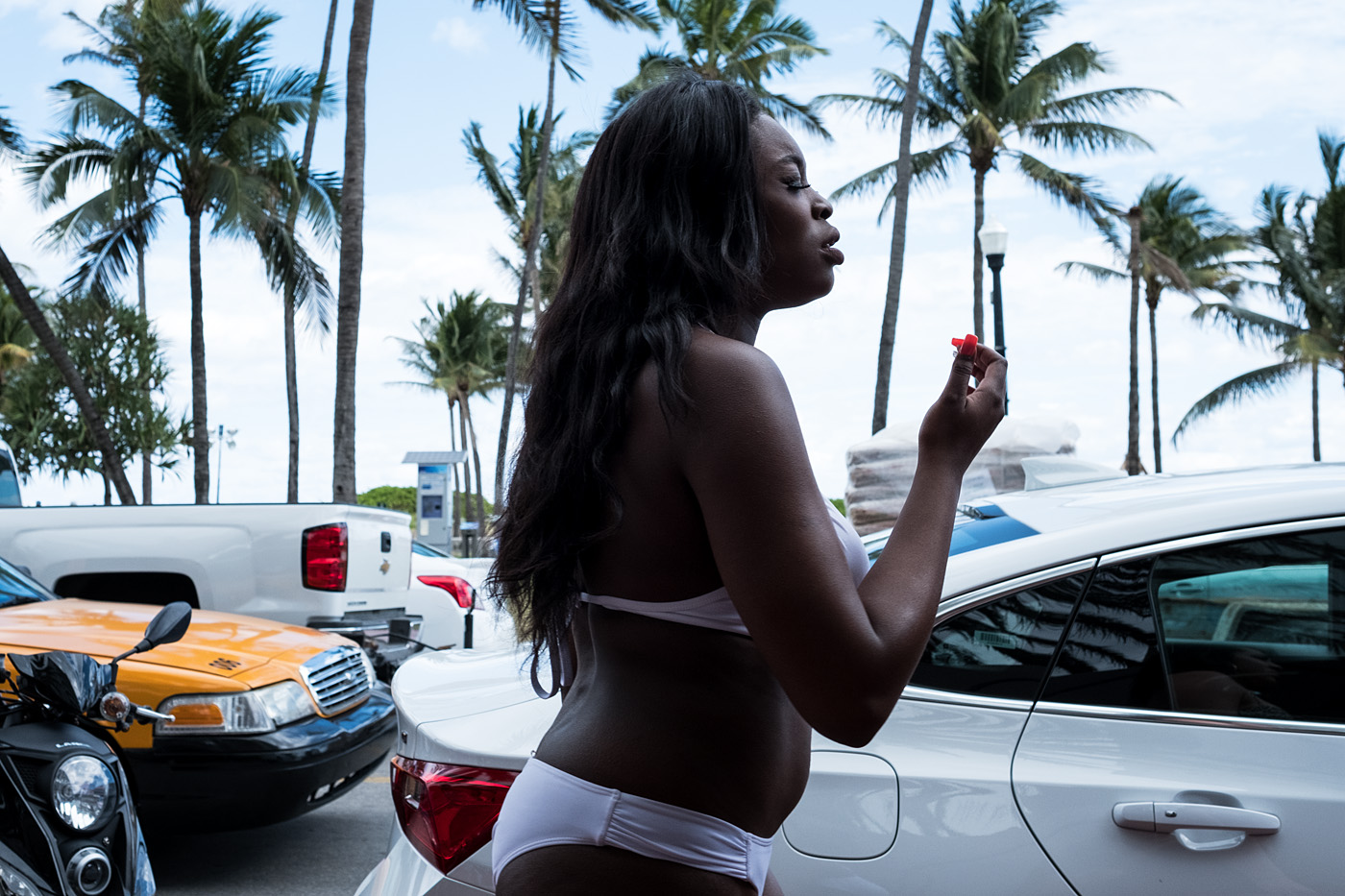 People watching in South Beach #2