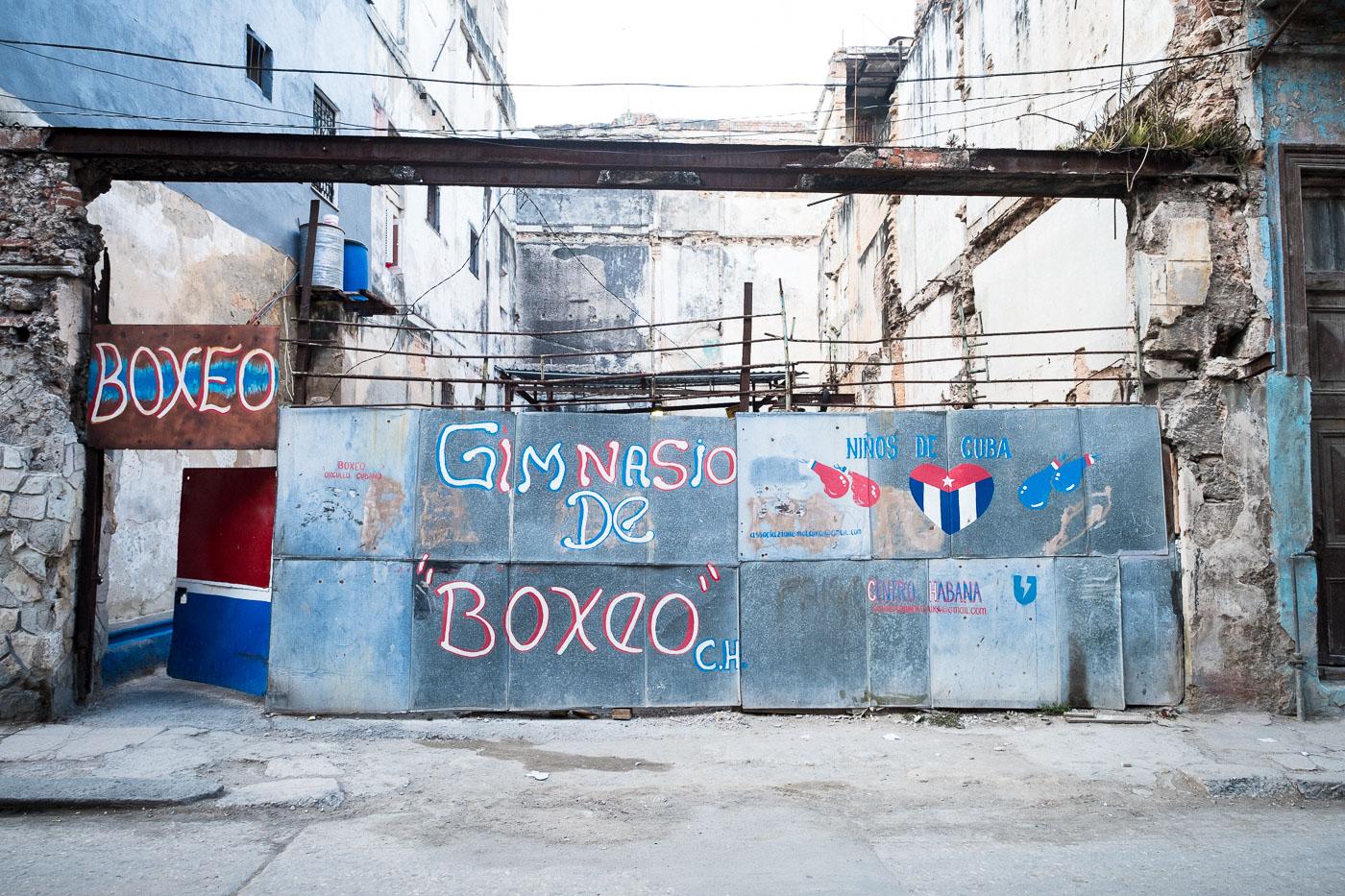 Gimnasio de Boxeo #8