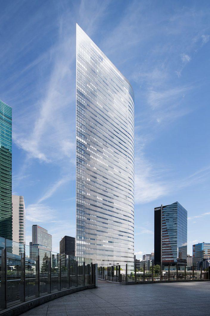 Dentsu Building, Tokyo, Japan - Ateliers Jean Nouvel