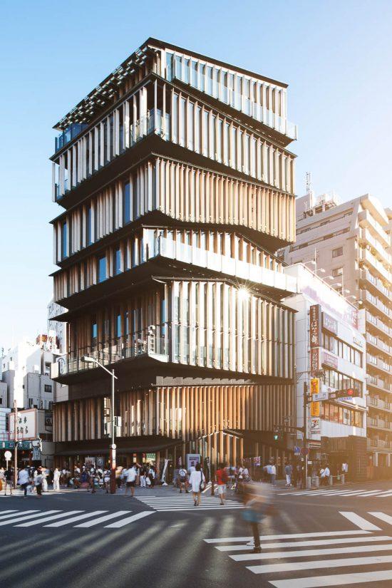 Asakusa Culture and Tourism Center, Tokyo, Japan - Kengo Kuma & Associates