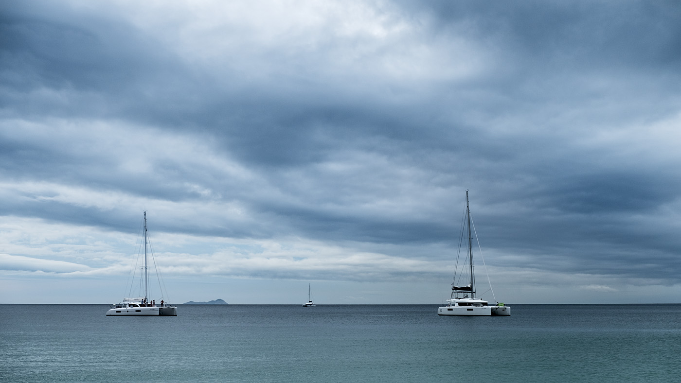 Three catamarans