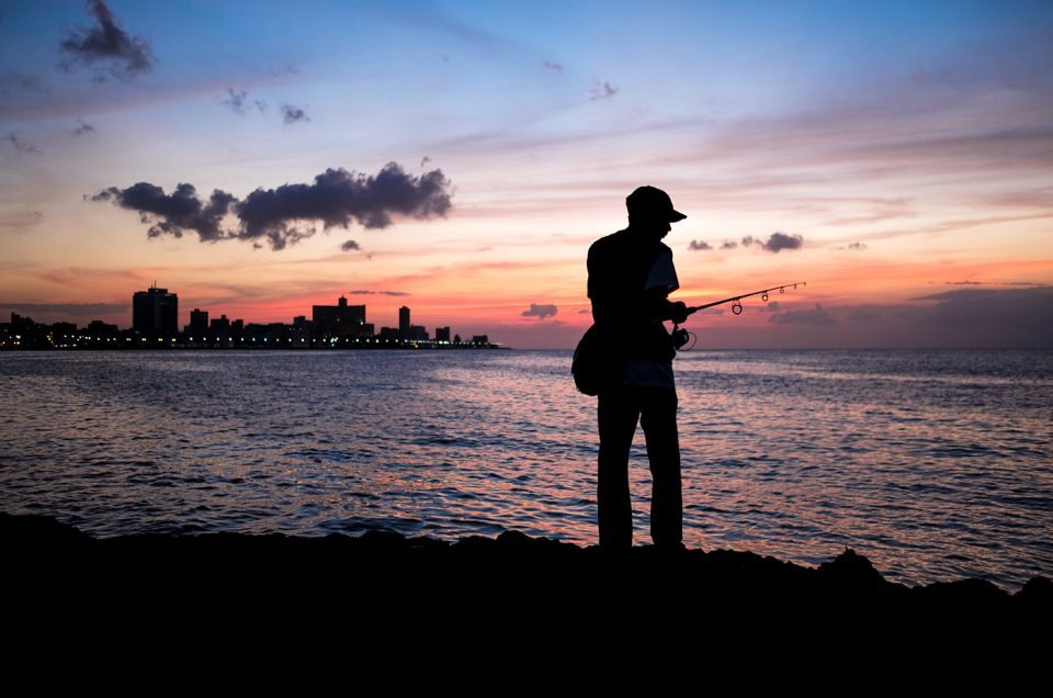 Fishing in Havana