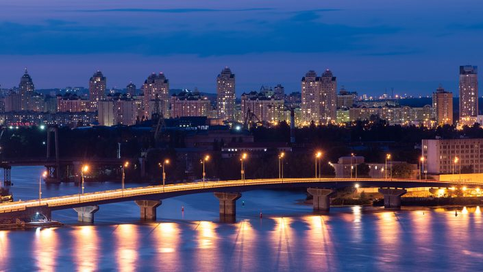 Kiev in the evening #2